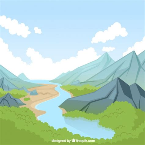 river boat graphics mountain river vectors photos and psd files free download