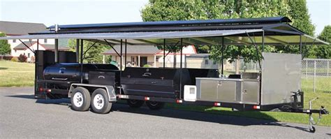 Bbq Concession Trailer With Porch by Ultimate Catering Trailer Jpg 700 215 294 Pixels Bbq Pits