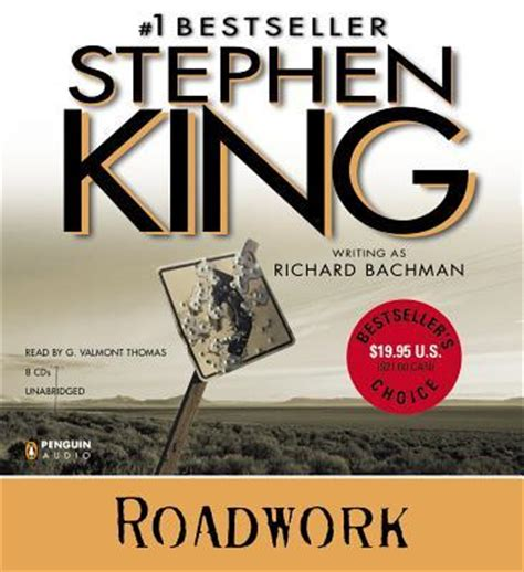 roadwork a novel books roadwork richard bachman stephen king g valmont