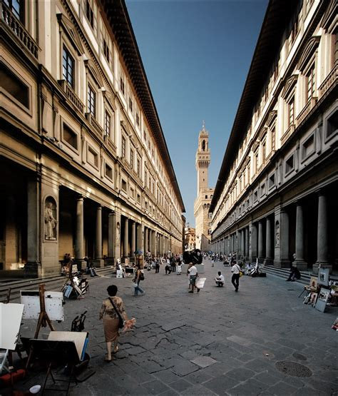 uffici firenze now and then the uffizi florence italy