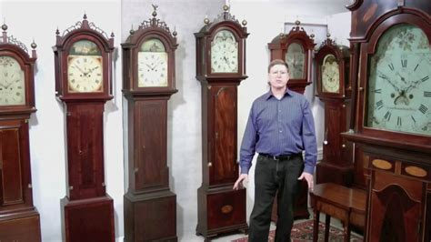 Antique Dutch Door And antique tall case grandfather clock disassembly tutorial
