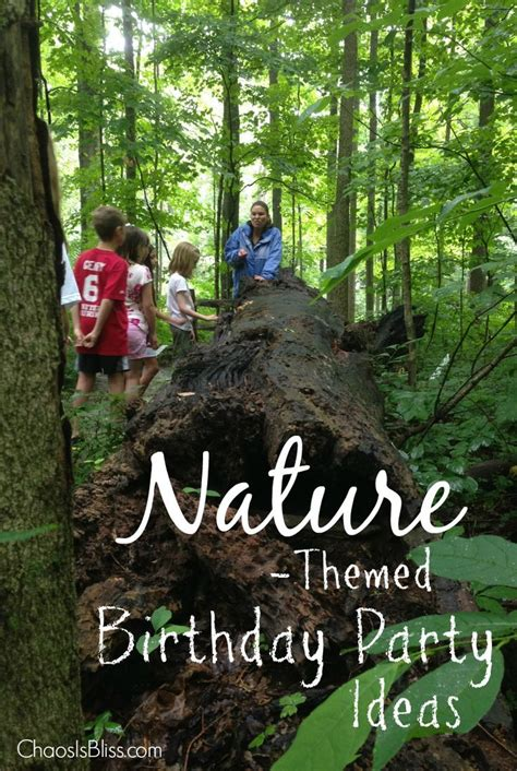 nature themed events 34 best nature birthday party images on pinterest