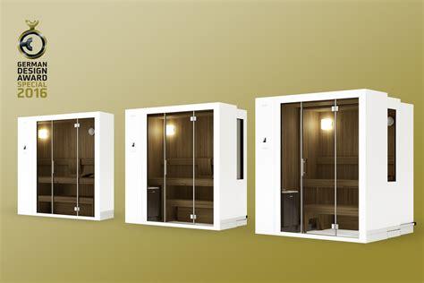 klafs s1 klafs sauna s1 gewinnt beim renommierten german design