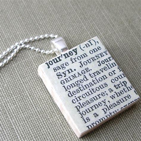 is yin a word in scrabble journey vintage scrabble tile necklace sterling silver