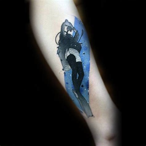 40 scuba diving tattoo designs for men diver ink ideas