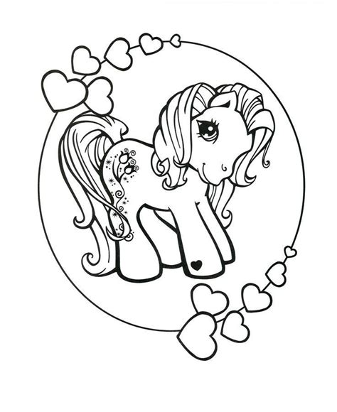 pelangi una mewarnai kuda poni