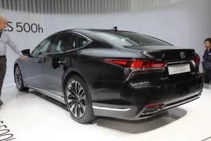 Lexus Ls 2018 Lexus Ls 500h Look Review