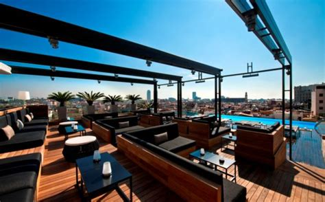 barcelona top bars hotel grand central barcelona skybar favorite places pinterest bar rooftop and