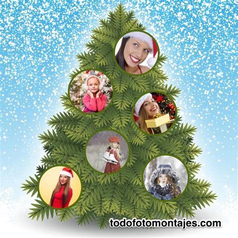 fotomontaggi cornici foto ed effetti foto gratis immagini fotomontaje de arbolito de navidad para 6 fotos