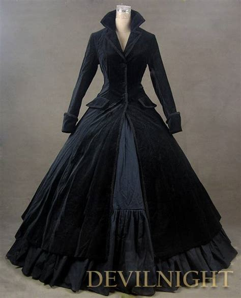 C Nel Classic Uk 30x9x17 black velvet vintage winter dress by