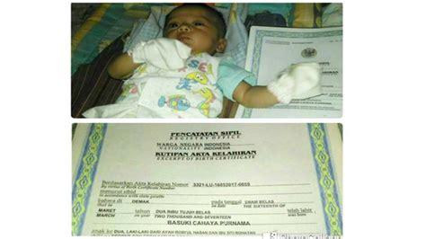 membuat nama anak yang baru lahir nama bayi yang baru lahir ini jadi viral tulisan di akta
