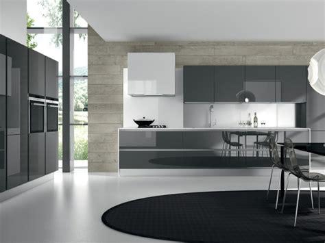 d馗o cuisine grise idee deco cuisine grise et