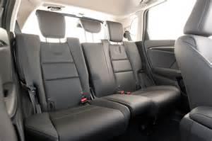 Honda Fit Seats 2015 Honda Fit Ex L Rear Interior Seats Photo 10