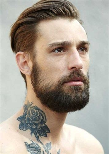 beard length vs hair length haircuts that go with beards