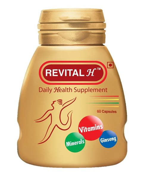 h supplements revital h multivitamin and nutritional supplement