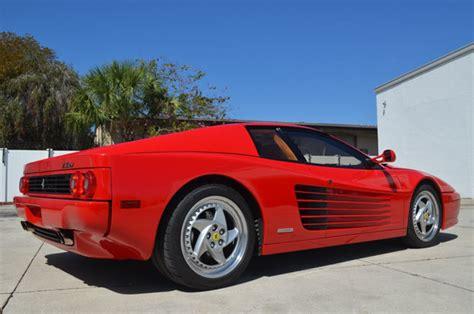 512m for sale 1995 testarossa 512m for sale