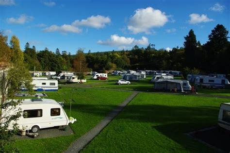 the walled garden caravan and cing park is a csite and caravan park in ayrshire t t the
