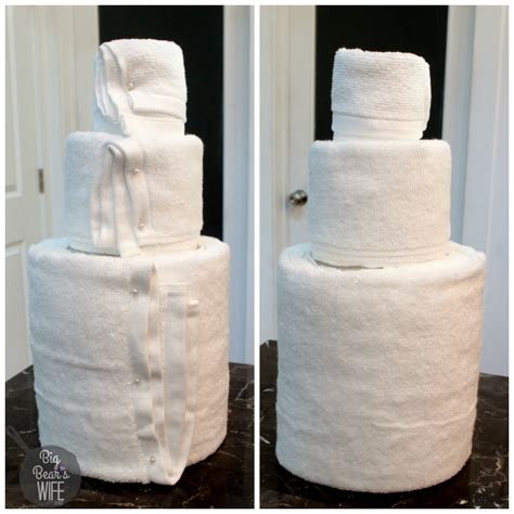 towel cakes for bridal shower how to make how to make a towel cake for a bridal shower big s