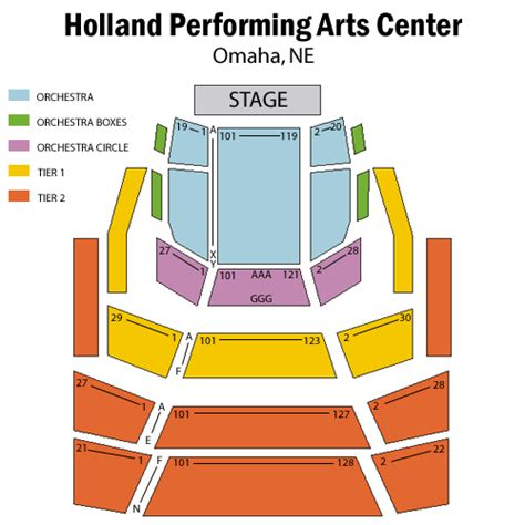 holland performing arts