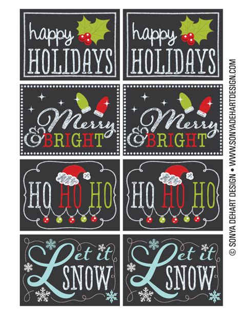 printable chalkboard tags free snowman tags editable new calendar template site
