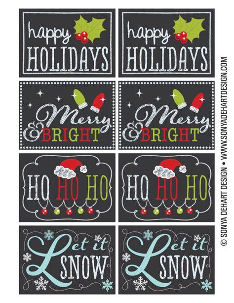 free printable chalkboard christmas gift tags free printable chalkboard christmas tag labels