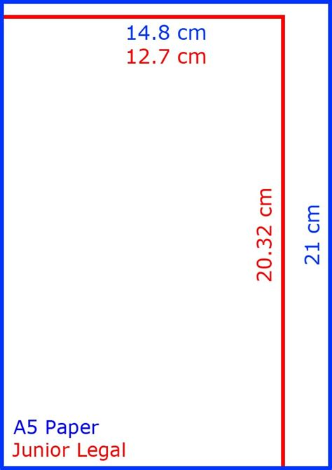 How To Make A4 Size Paper - a5 paper size in centimetres cm a5 paper size