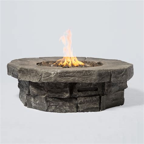 wohnkultur baumgartner propane pit cast aluminum propane pit 281333 pits