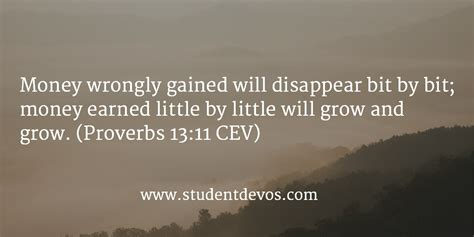 Bible Quotes About The Of Money by Daily Devotion And Bible Verse August 22 Student Devos