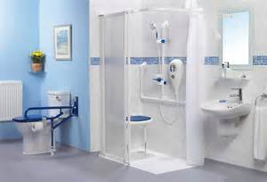 Shower Enclosures For Baths disabled bathroom