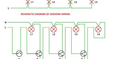 godown wiring diagram light wiring diagram