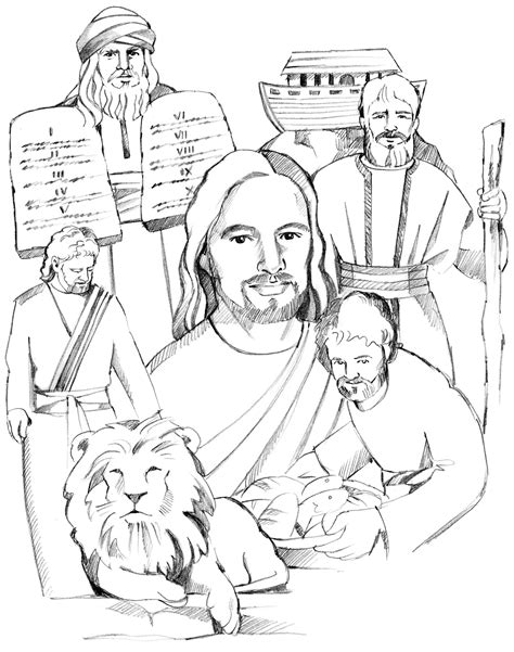 Image Old Testament Coloring Pages Download Testament Coloring Pages