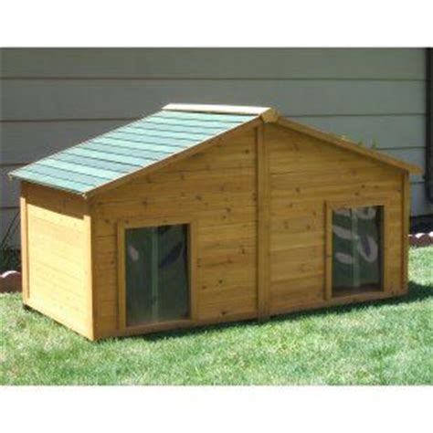 dual dog house double dog house arts and crafts pinterest