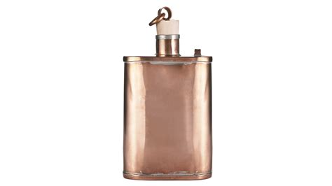desire this handmade copper flask by jacob bromwell