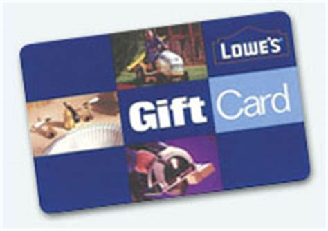 Lowes Gift Card Check - 40 lowes gc 24 hour flash ends monday at 1159p