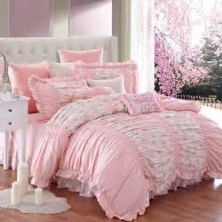 luxury girls bedding luxury ruffled red rose bedding set modern princess