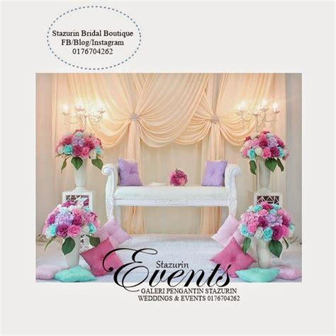 Sofa Warna Pink pelamin mini tirai eksklusif nikah sanding pakej dewan busana pengantin pelamin dewan pelamin