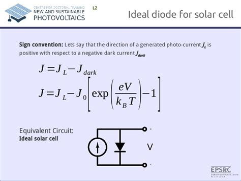 boltzmann diode equation fundamentals of photovoltaics lecture 1