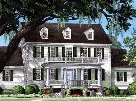 colonial cottage house plans colonial tobacco plantation colonial southern plantation house plan colonial