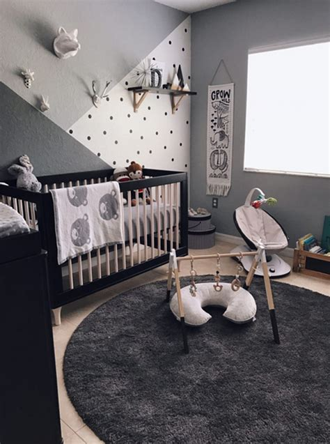 home design grey theme neutral grey nursery with zoo themes home design and