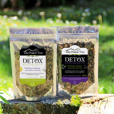 Tree Of Detox Tea by Detox Tea Duo Morning And Evening Purity 100 Organic