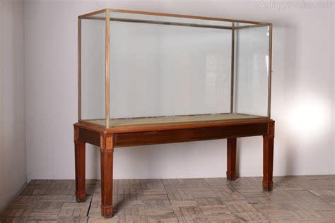 Edwardian Antique Museum Exhibit Cabinet.   Antiques Atlas