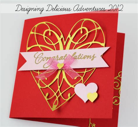 Handmade Anniversary Cards For Parents - happy anniversary to j s parents cjmeyer designs