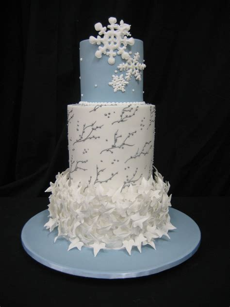 winter cake decorating ideas southern blue celebrations winter cake ideas inspirations