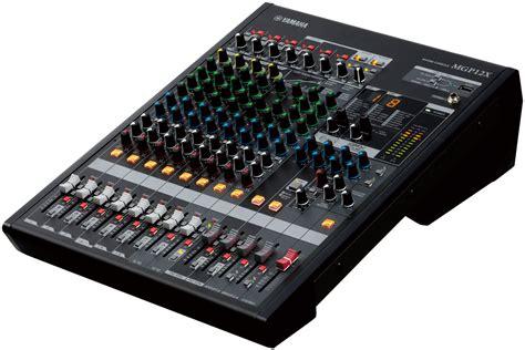Yamaha Audio Mixer Di Malaysia yamaha mgp12x mixer audio mixer audio audio nuovo