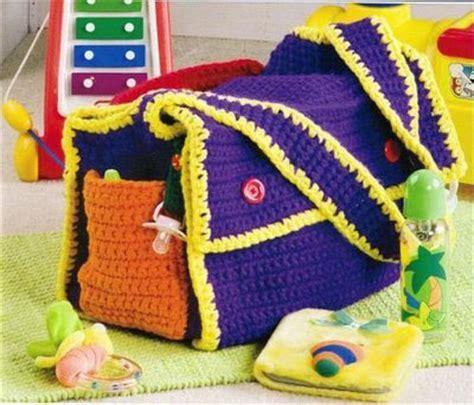 bolso para bebe tejida en crochet tejedora compulsiva bolso para beb 233 tejido