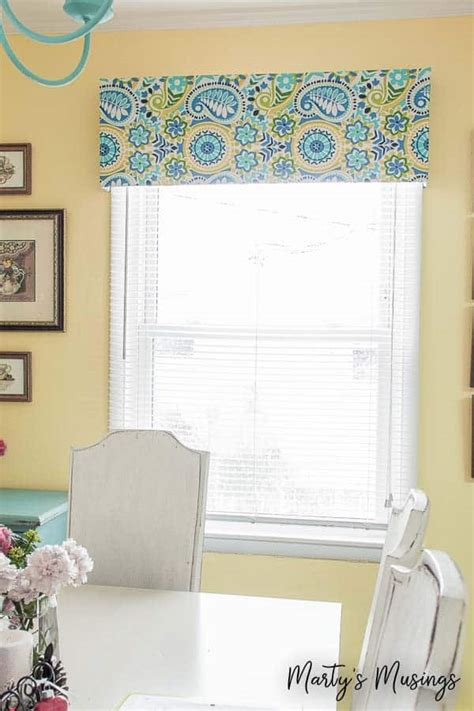 Kitchen Without Cornice by No Sew Window Valance
