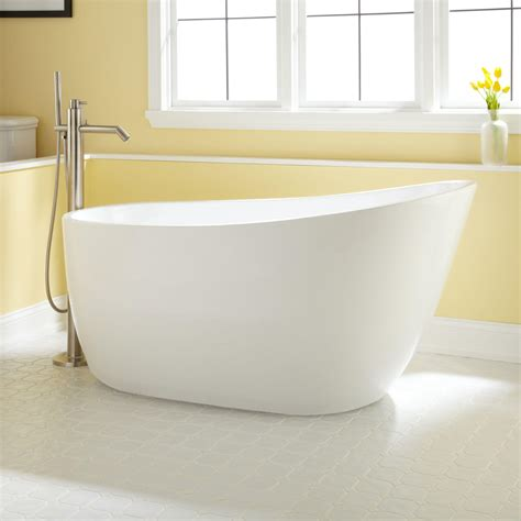60 inch freestanding bathtub 60 quot gena freestanding acrylic tub no overflow or faucet