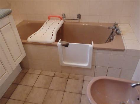 porte baignoire transformer une baignoire en baignoire a porte agen