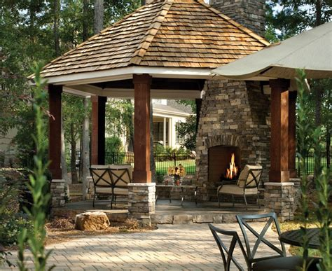 Gazebo Ideas For Patios by Bright Propane Space Heaterin Patio Traditional With