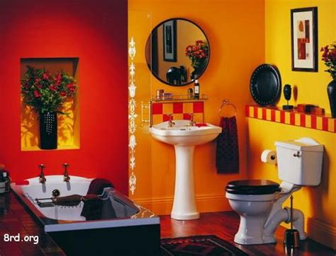 red and black bathroom decorating ideas red bathroom decor photos home decorating photos